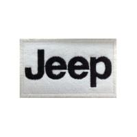 0119 Patch emblema bordado 10x6 JEEP