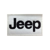 0119 Patch emblema bordado 10x6 JEEP