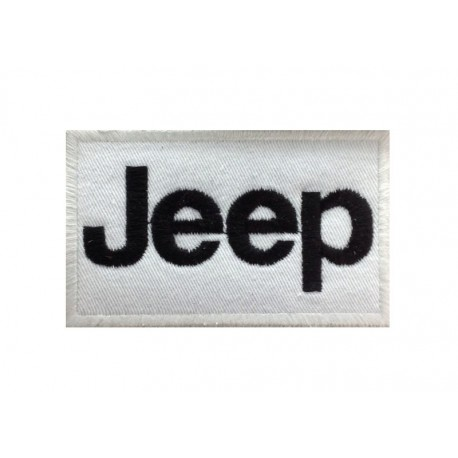 0119 Embroidered patch 10x6 JEEP