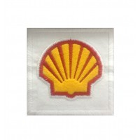 0249 Patch écusson brodé 7x7 SHELL
