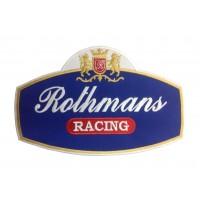 0676mPatch emblema bordado 26X17 ROTHMANS RACING