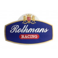 0676mPatch emblema bordado 26X17 ROTHMANS RACING