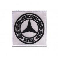 Patch écusson brodé 7x7 Mercedes