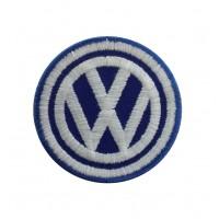 1053 Patch écusson brodé 5X5 VW VOLKSWAGEN