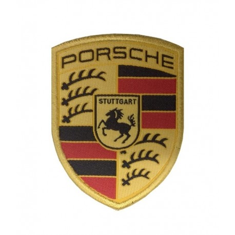 1057 Patch emblema bordado 7x6 PORSCHE