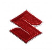 1062 Embroidered patch 6X6 SUZUKI