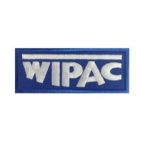 1065 Embroidered patch 10x4 WIPAC