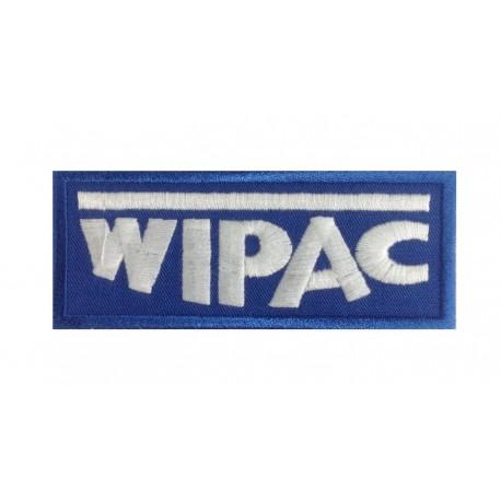 1065 Patch écusson brodé 10x4 WIPAC