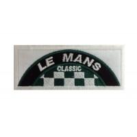 1066 Patch emblema bordado 10x4 LE MANS CLASSIC
