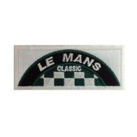 1066 Embroidered patch 10x4 LE MANS CLASSIC