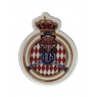 1069 Embroidered patch  9x7 ACM Automobile Club de Monaco