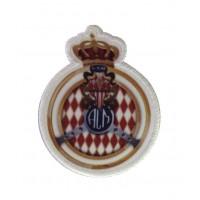 1069 Patch écusson brodé 9x7 ACM Automobile Club de Monaco