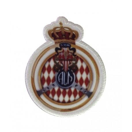 1069 Embroidered patch  9x7 ACM Automobile Club de Monaco