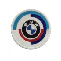 0773 Embroidered patch 7x7 BMW M MOTORSPORT