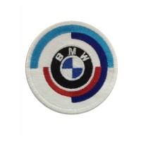 0773 Patch emblema bordado 7x7 BMW M MOTORSPORT