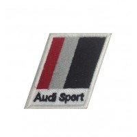 1072 Embroidered patch 6x5 AUDI SPORT