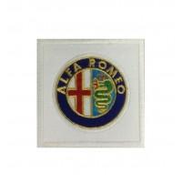 0258 Patch emblema bordado 7x7 ALFA ROMEO