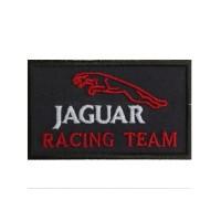 1073 Embroidered patch 10x6 JAGUAR RACING TEAM