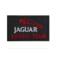 1073 Patch emblema bordado 10x6 JAGUAR RACING TEAM