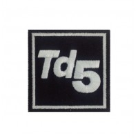 0560 Embroidered patch 7x7 TD5 land rover