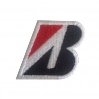 0218 Patch emblema bordado 5x4 Bridgestone