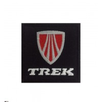 1081 Embroidered patch 7x7 TREK