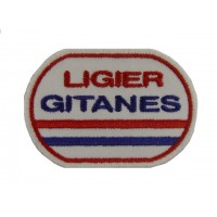 1083 Patch écusson brodé 8x6 LIGIER GITANES