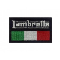 1084 Embroidered patch 7x4 LAMBRETTA