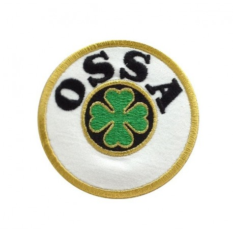 1093 Embroidered patch 7x7 OSSA