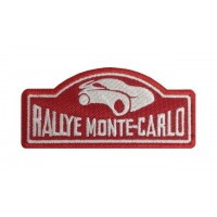 1021 Embroidered patch 10x4 RALLYE MONTE-CARLO