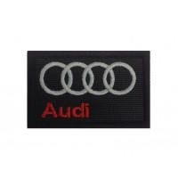 Embroidered patch  6x4 AUDI