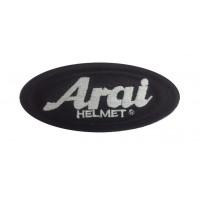 0687 Embroidered patch 10x5 ARAI HELMET