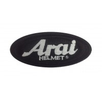 Patch emblema bordado 10x5 ARAI HELMET