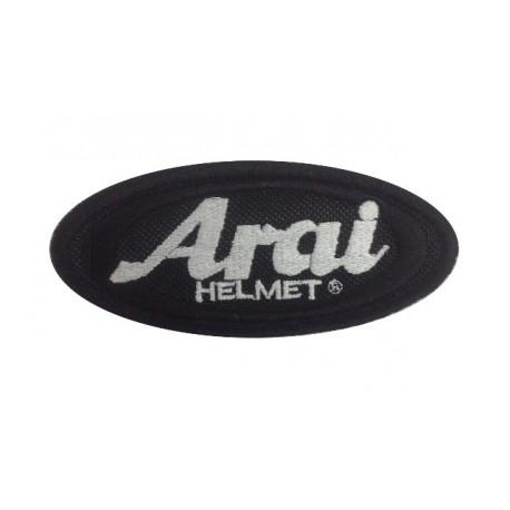 Embroidered patch 10x5 ARAI HELMET