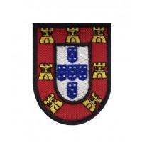 0602 Patch écusson brodé 7X5 ECUSSON PORTUGAL
