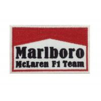 1097 Patch emblema bordado 10x6 MARLBORO McLAREN F1 Team