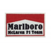 Patch emblema bordado 10x6 Marlboro McLaren F1 Team