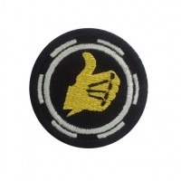 1100 Embroidered patch 5X5 BULTACO