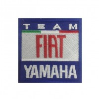 Embroidered patch 7x7 Moto GP team Yamaha Fiat