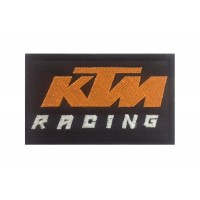 0543 Embroidered patch 10x6 KTM RACING