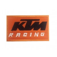 Embroidered patch 10x6 KTM racing
