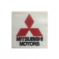 0107 Embroidered patch 7x7 Mitsubishi Motors