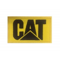 0309 Patch emblema bordado 10x6 CAT CATERPILLAR