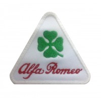 1105 Patch emblema bordado 9X7 ALFA ROMEO QUADRI FOGLIO