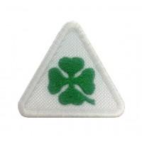 1106 Patch emblema bordado 6X5 ALFA ROMEO QUADRI FOGLIO