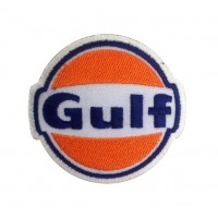 Patch écusson brodé 8x8 Gulf Racing