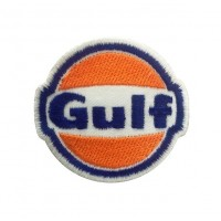 1108 Embroidered patch  6X5 GULF