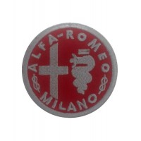1109 Embroidered patch 7x7 ALFA ROMEO 1945