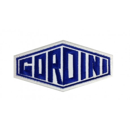 Embroidered patch 10x5 GORDINI Renault