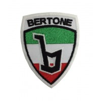 0335 Embroidered patch 7x9 BERTONE ITALY